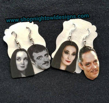 Addams Family Earrings
