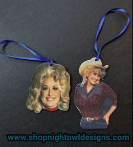 Dolly Parton Ornaments