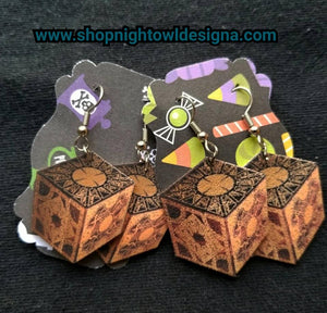 Puzzlebox Earrings