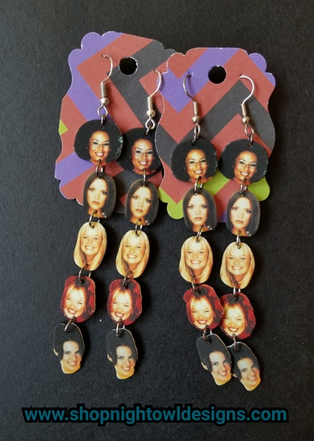 Spice Girls Stackable Earrings