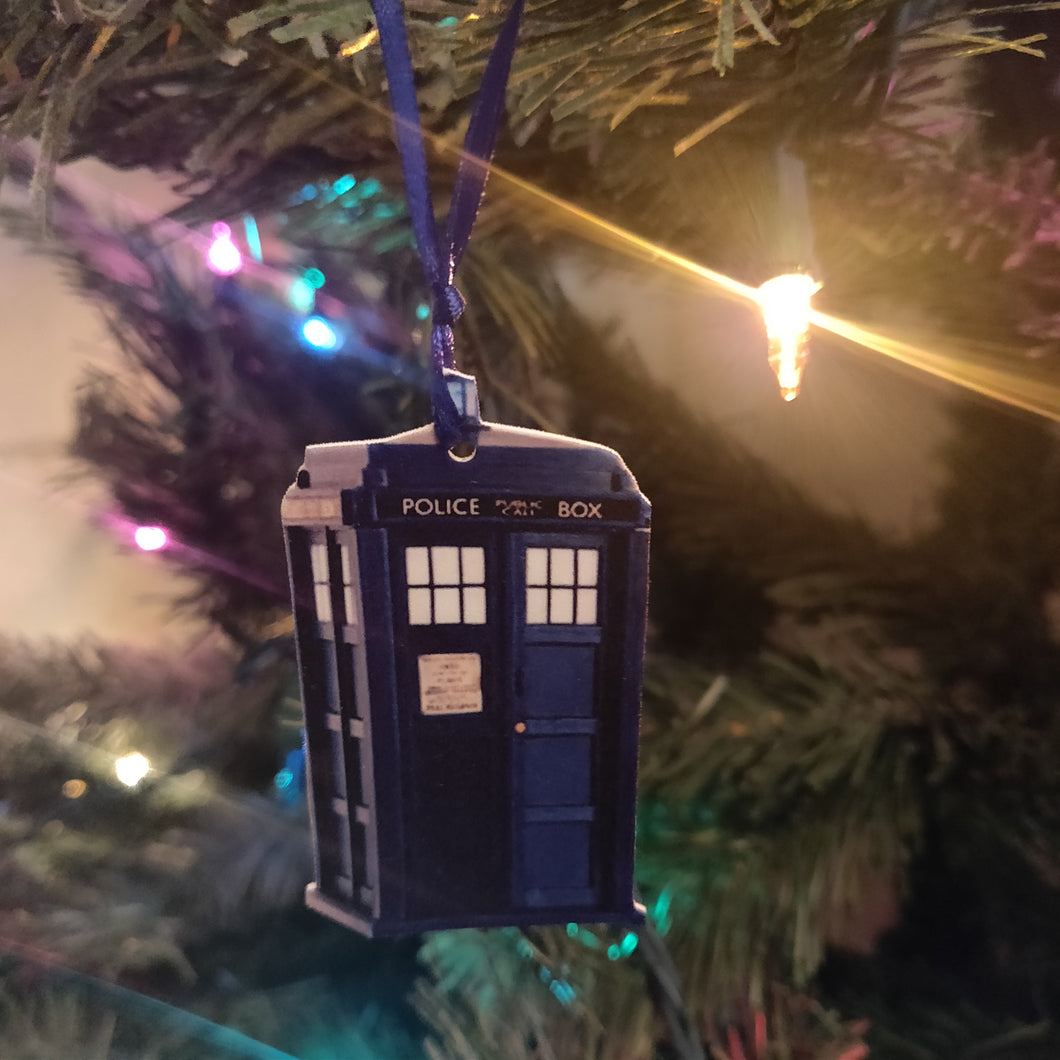 Tardis Light Switch Plate