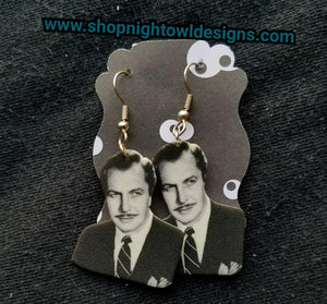 Vincent Price Earrings