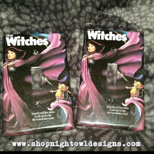 the Witches light switch cover