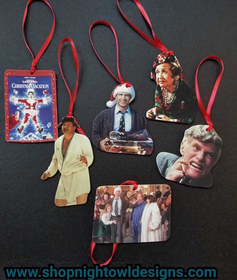Choose Your Own Christmas Vacation Ornaments
