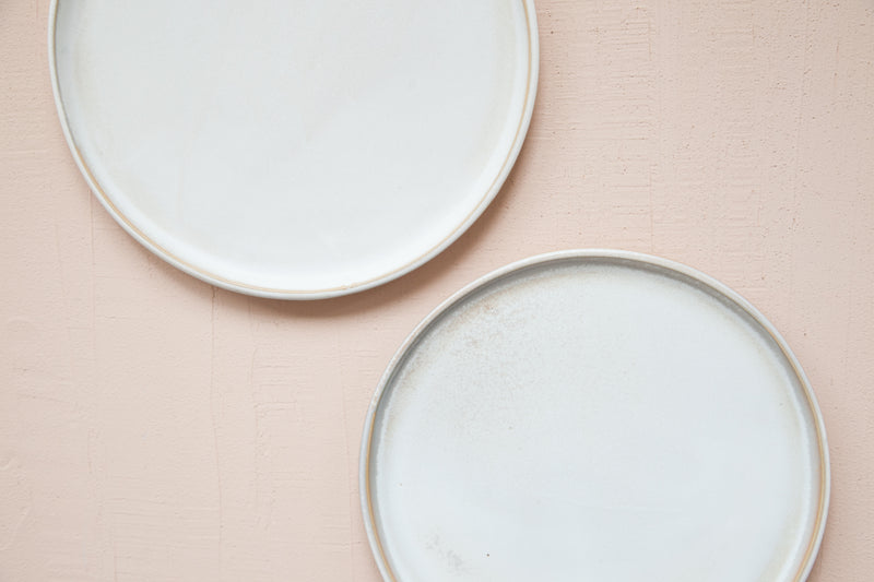 Large Plate / Light Champagne - SECONDS SALE