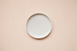 Small Plate / White Shino - SECONDS SALE