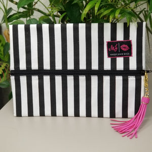 Glam Stripe by Makeup Junkie Bags