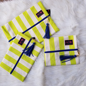 Cabana Neon by Makeup Junkie Bags
