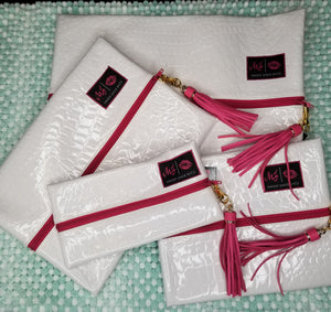 White Lies by Makeup Junkie Bags