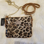 Light Leopard/Tan Crossbody