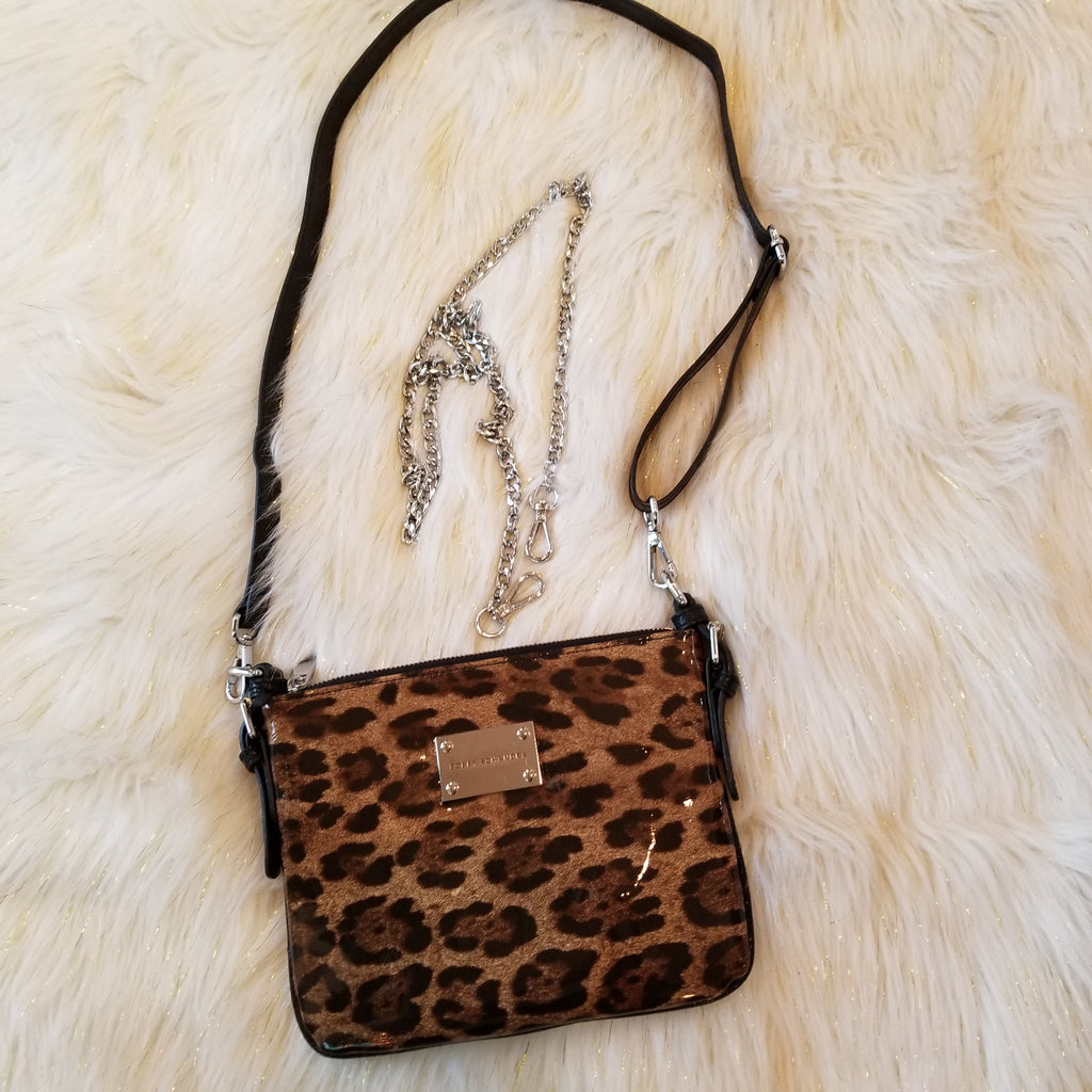 Leopard/Black Crossbody