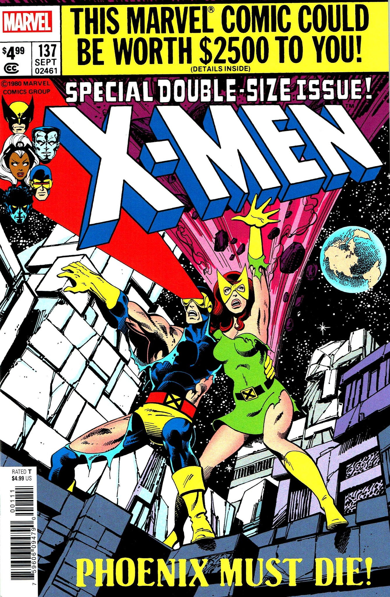 X-Men (1963) #137 Facsimile Edition