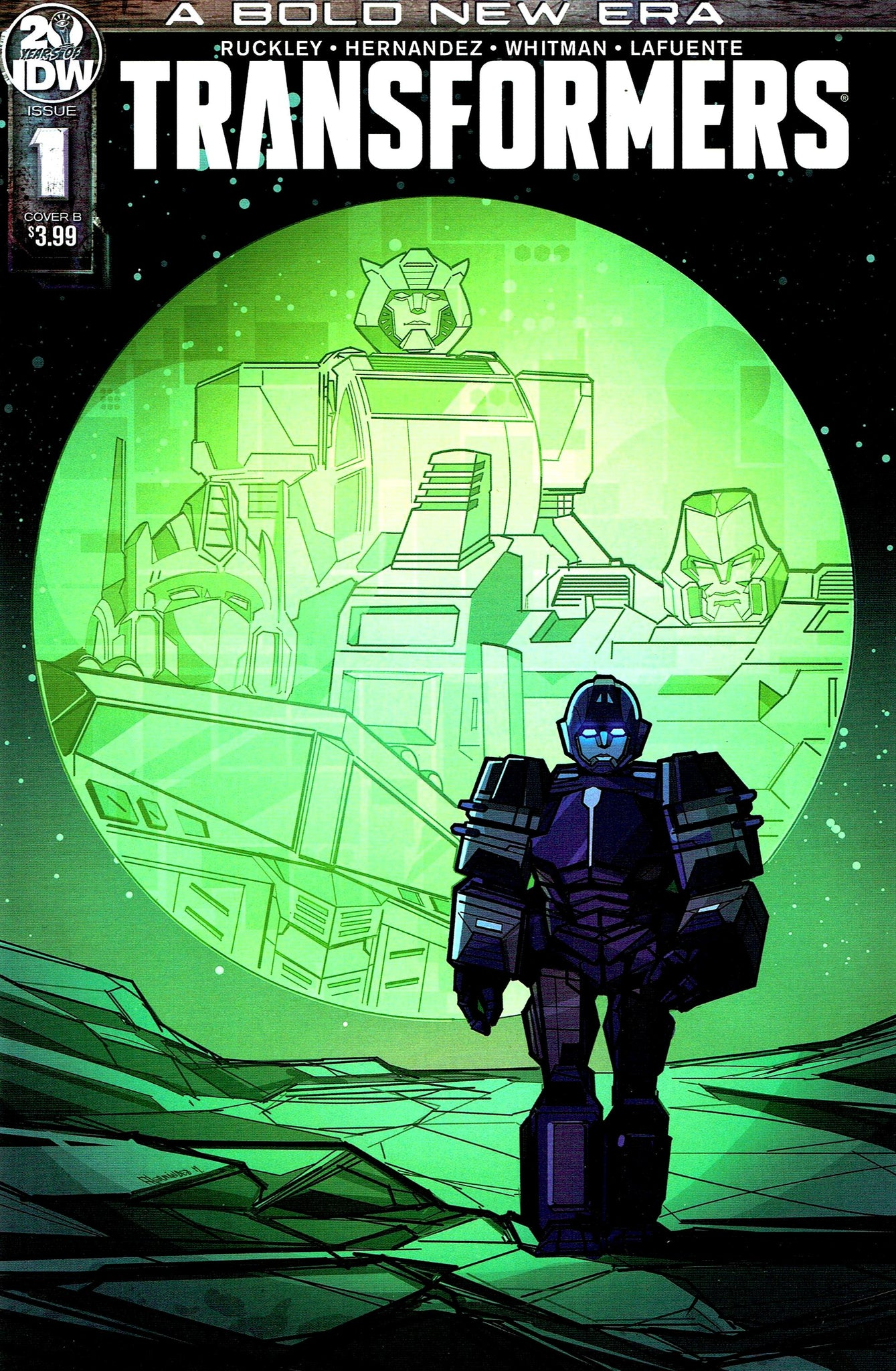 Transformers (2019) #01 Angel Hernandez Cover