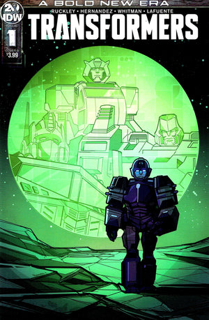 Transformers (2019) #1 Angel Hernandez Cover