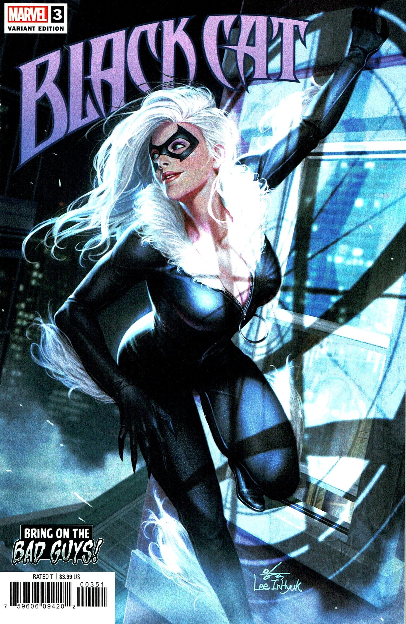 Black Cat (2019) #03 In-Hyuk Lee Bring on the Bad Guys! Cover