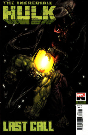 Incredible Hulk: Last Call (2019) #1 (One-Shot) Adam Kubert Cover