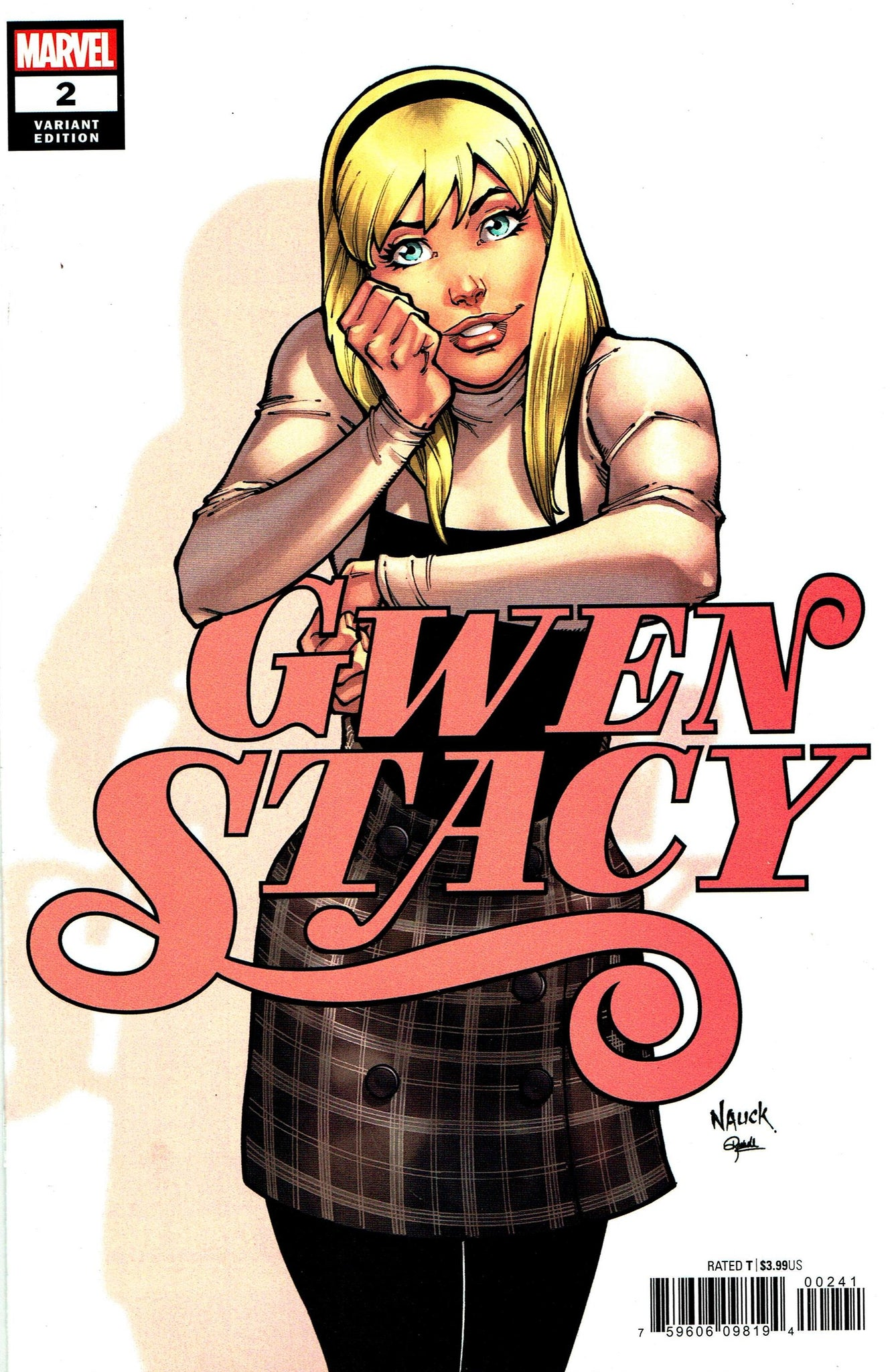Gwen Stacy (2020) #2 (of 5) Todd Nauck Cover