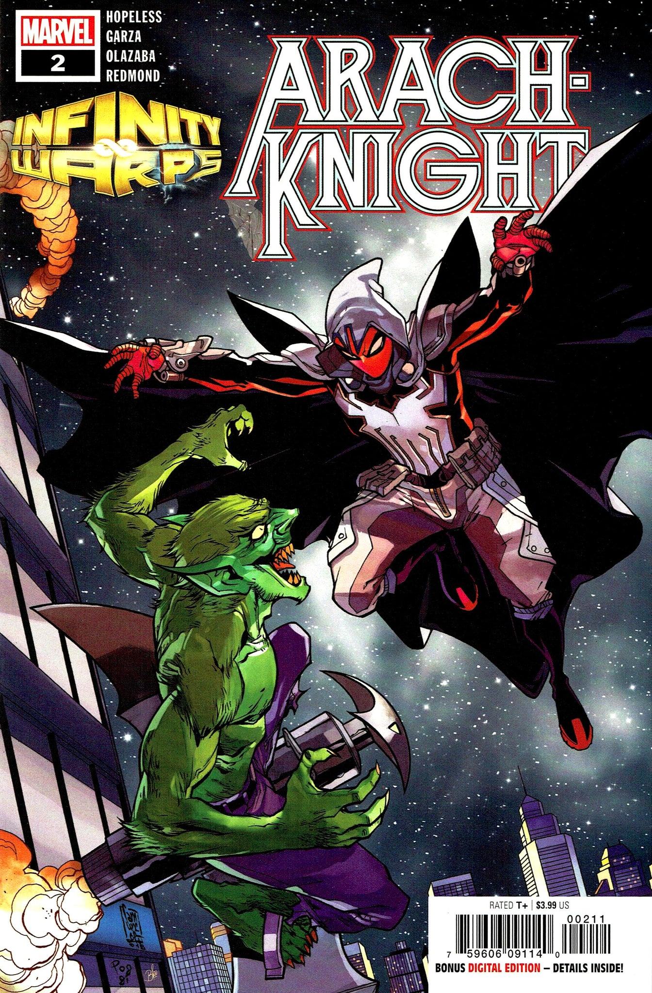 Infinity Wars: Arach-Knight #2 (of 2)