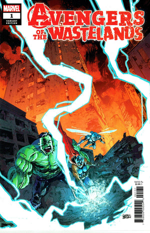 Avengers of the Wastelands (2020) #1 (of 5) Garry Brown Cover