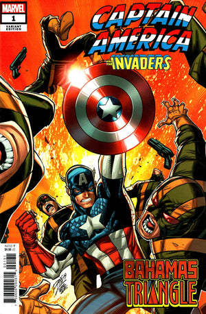 Captain America and The Invaders: Bahamas Triangle (2019) #1 (One-Shot) Ron Lim Cover