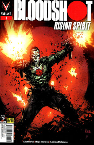 Bloodshot: Rising Spirit (2018) #7 Renato Guedes Cover