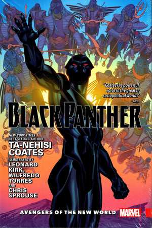 Black Panther (2016) Book 2: Avengers of the New World HC