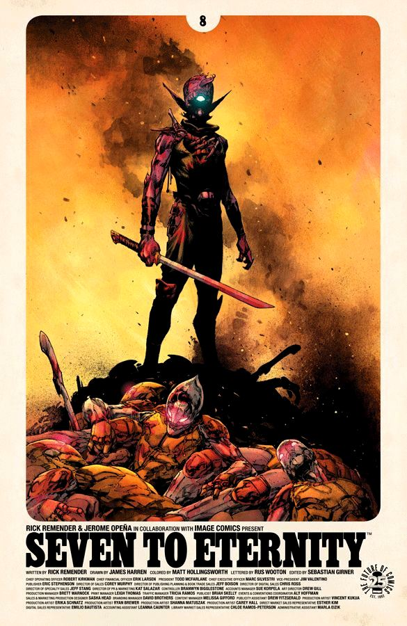 Seven to Eternity #08 Opena
