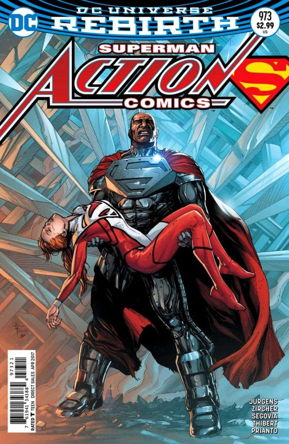 Action Comics (DC Universe Rebirth) #973 Variant