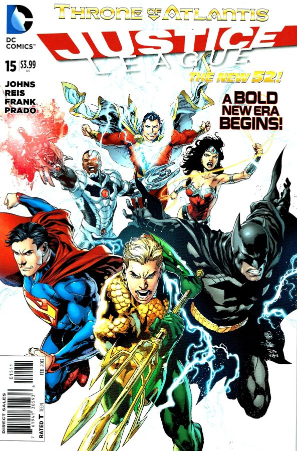 Justice League (The New 52) #15