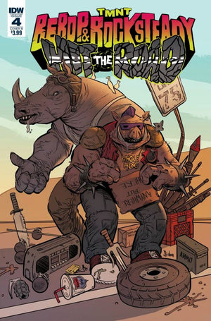 Teenage Mutant Ninja Turtles Bebop Hit the Road #4 KS