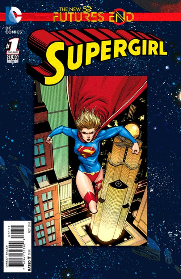 Futures End Supergirl 3D Cover
