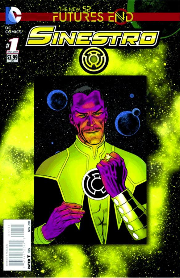 Futures End Sinestro 3D Cover