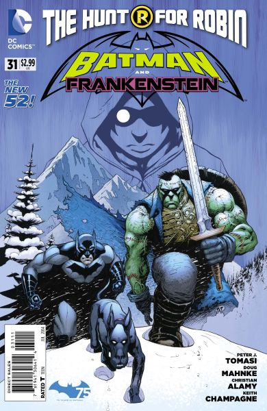 Batman and Frankenstein (The New 52) #31