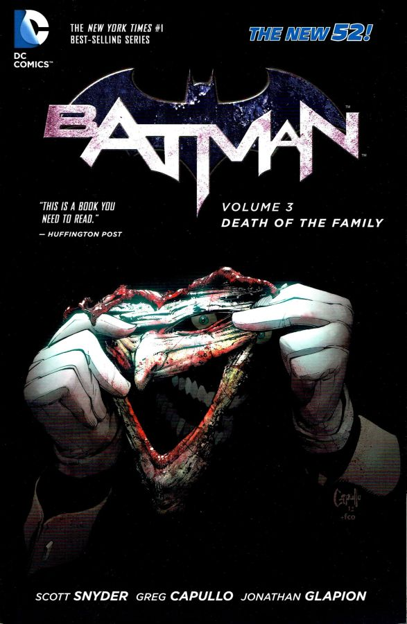 Batman (The New 52) Volume 03: Death of the Family