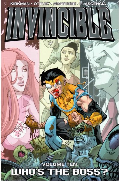 Invincible Volume 10: Who's the Boss?