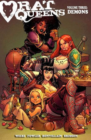 Rat Queens (2017) Volume 3: Demons