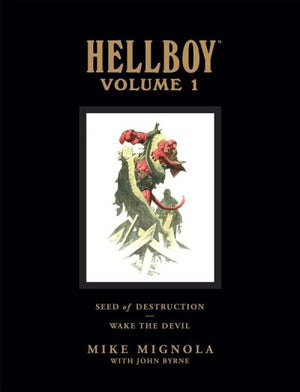 Hellboy Library Edition Volume 1: Seed of Destruction / Wake the Devil HC