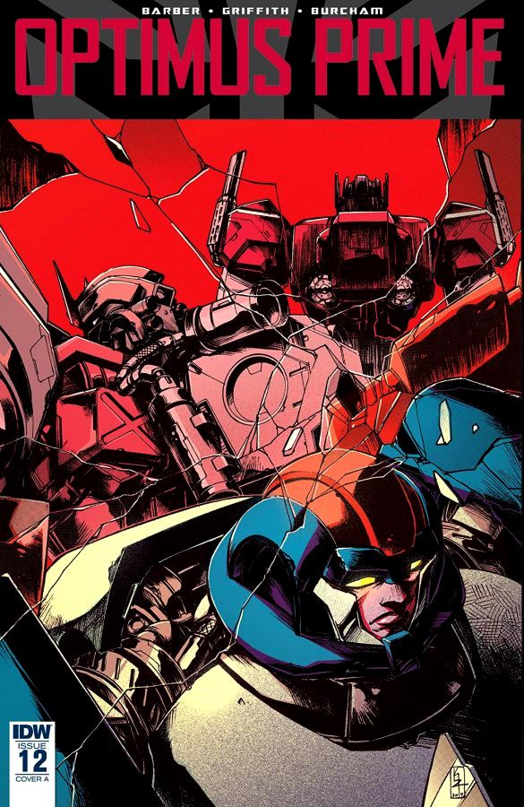 Optimus Prime #12 Zama Cover