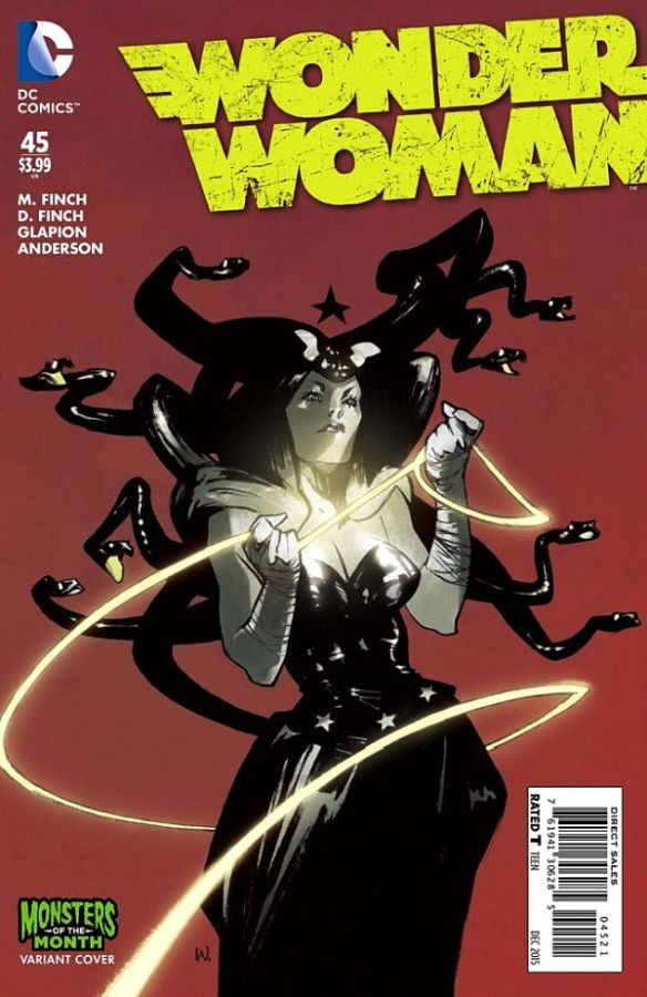 Wonder Woman (The New 52) #45 Variant
