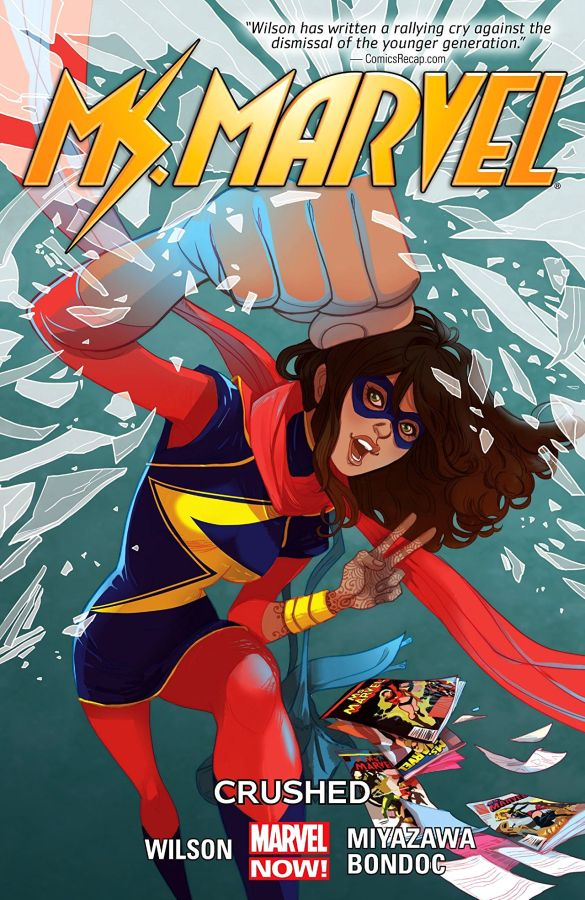 Ms Marvel (2014) Volume 03: Crushed
