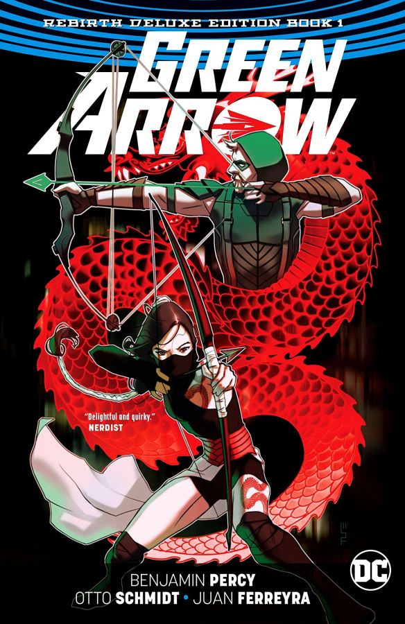 Green Arrow - The Rebirth Deluxe Edition Book 1 HC