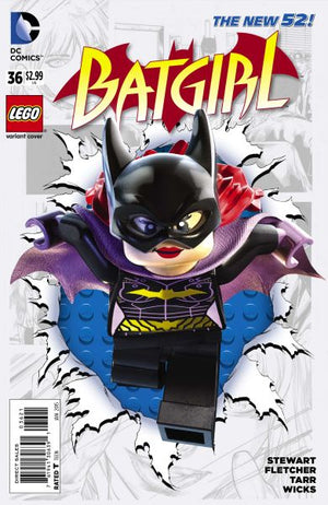 Batgirl (The New 52) #36 Lego Cover