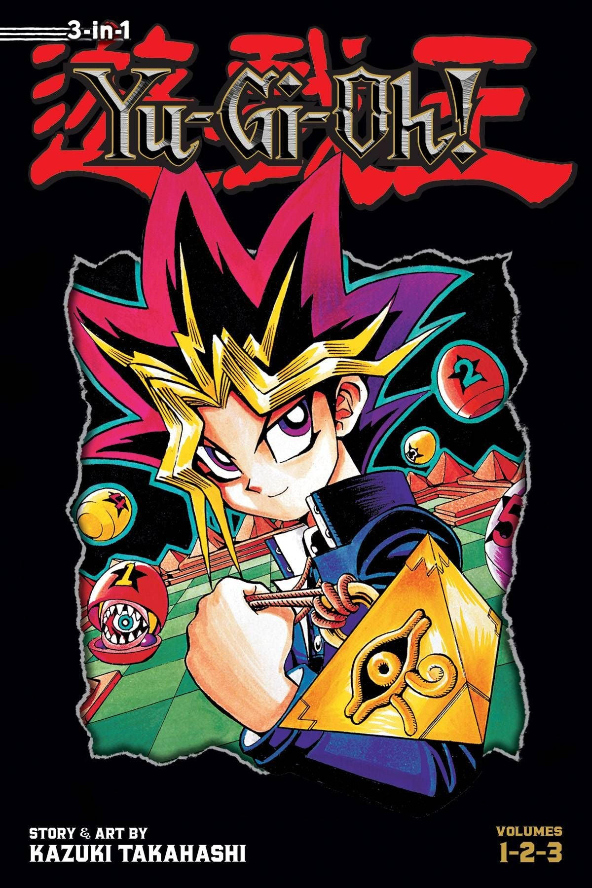 Yu Gi Oh 3-in-1 Edition Volume 1