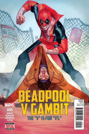 Deadpool Vs Gambit (2016) #5 (of 5) Kevin Wada Cover