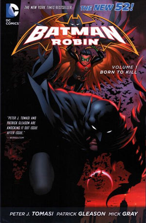 Batman and Robin (The New 52) Volume 1: Born to Kill