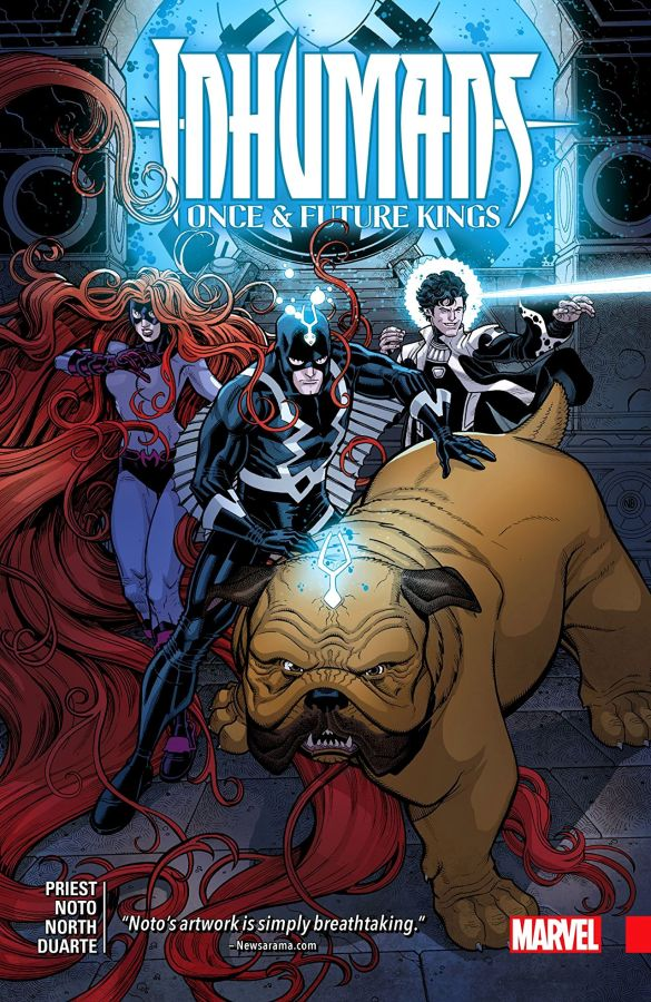 Inhumans Once & Future Kings