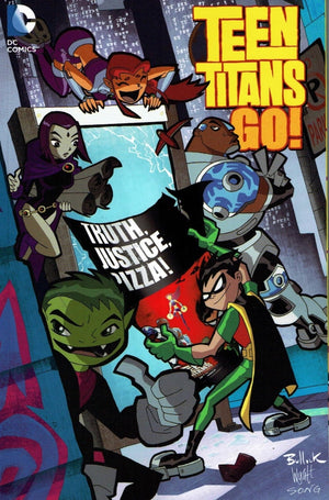 Teen Titans Go! Truth, Justice, Pizza!