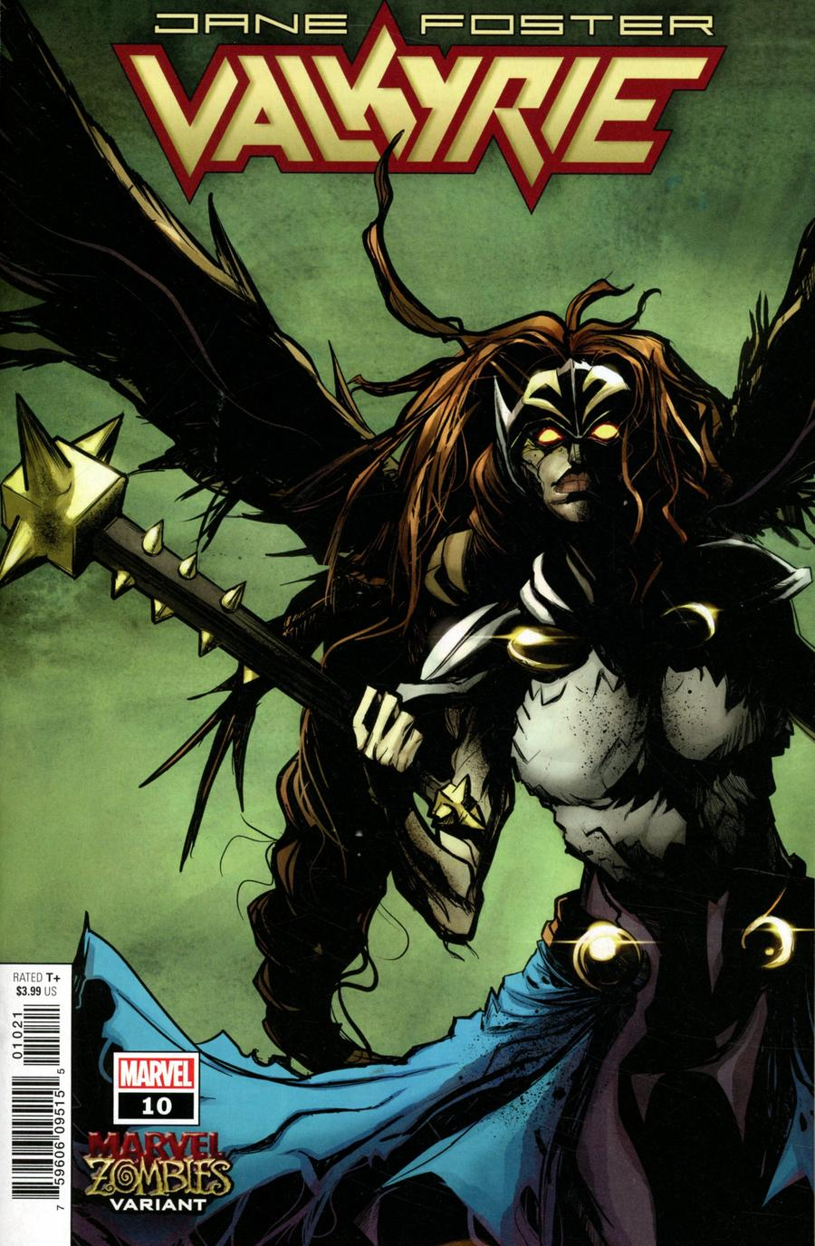 Valkyrie: Jane Foster (2019) #10 Robbi Rodriguez Marvel Zombies Cover