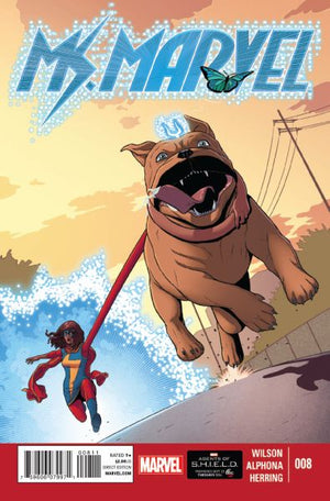 Ms Marvel (2014) #08