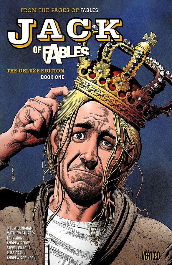 Jack of Fables - The Deluxe Edition Book 1 HC